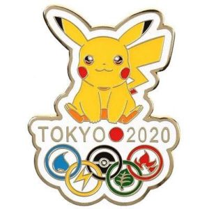Official Tokyo 2020 Summer Olympics pin.