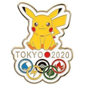 Official Tokyo 2020 Summer Olympics pin.