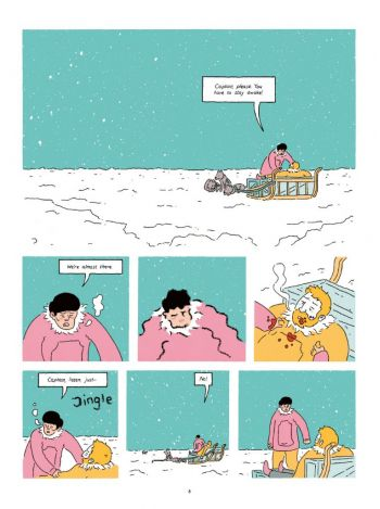 How to Survive in the North, Luke Healy, NoBrow, 2016