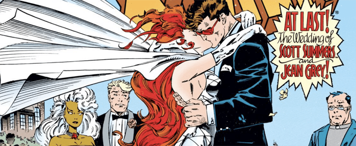 The Wedding Issue: Scott Summers and Jean Grey