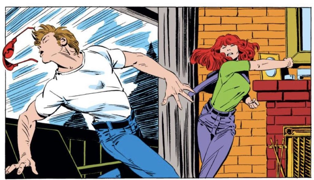 Scott and Madelyne. I can't imagine why this relationship didn't last!