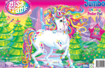 Lisa Frank jumbo sticker book cover
