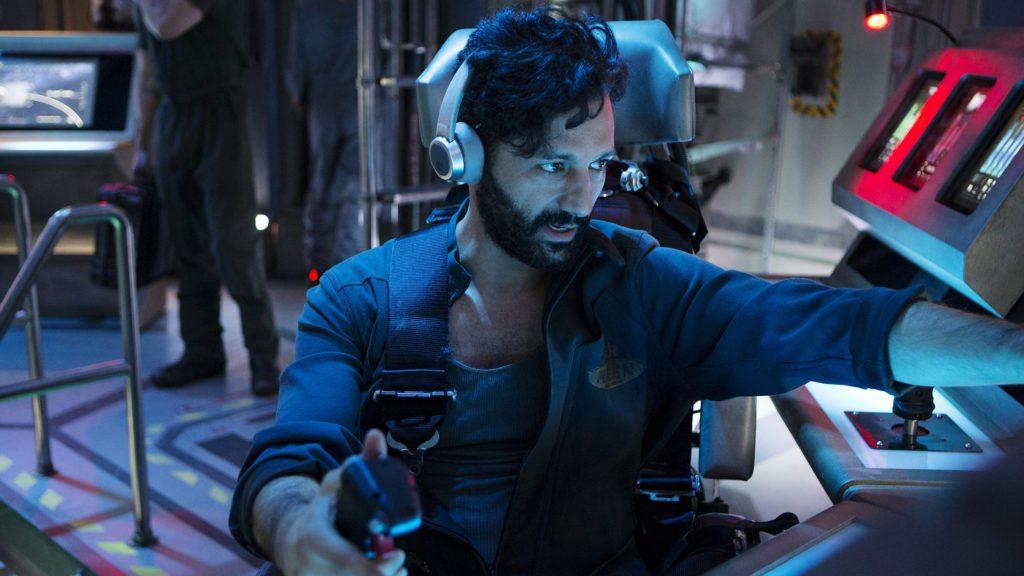 Cas Anvar as Rocinante Pilot Alex Kamal