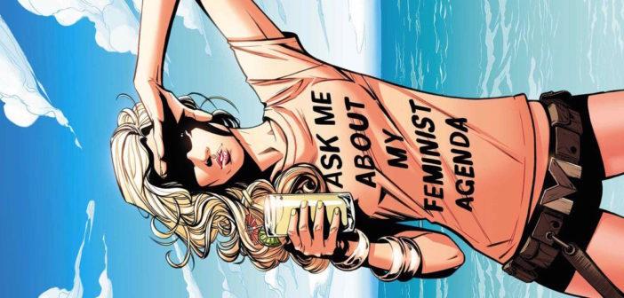 Joelle Jones & Rachelle Rosenberg cover for Mockingbird #8, Marvel Comics 2016
