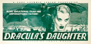 Draculas Daughter promotional art