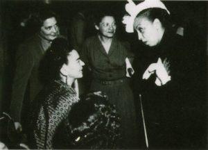Frida Kahlo and Josephine Baker