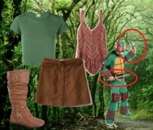 "Gabrielle (""Xena: Warrior Princess"") Costume"
