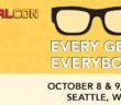 GeekGirlCon 2016, Seattle WA