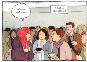 Rolling Blackouts: Dispatches from Turkey, Syria, and Iraq by Sarah Glidden (Drawn and Quarterly 2016)
