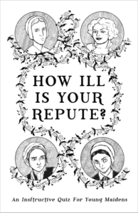 The cover of How ill is Your Repute? by Kitty Curran and Larissa Zageris