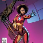 Invincible Iron Man #1 Midtown Comics variant covers by J. Scott Campbell