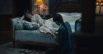 Kim Min-hee and Kim Tae-ri in The Handmaiden (Mongrel Media, 2016)
