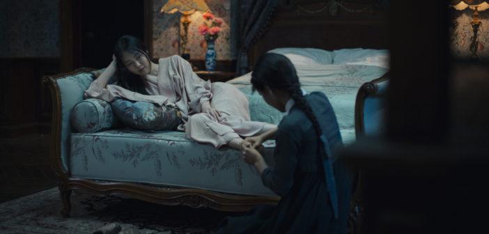 Kim Min-hee and Kim Tae-ri in The Handmaiden (Mongrel Media, 2016)