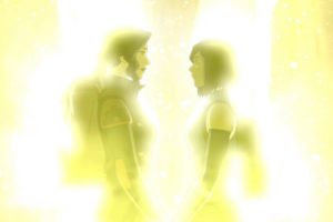"Korra and Asami, ""The Legend of Korra'"
