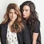 "Elise Bauman and Natasha Negovanlis as Laura and Carmilla, ""Carmilla"""