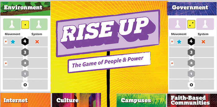 Rise Up: The Board Game About Fighting Oppression