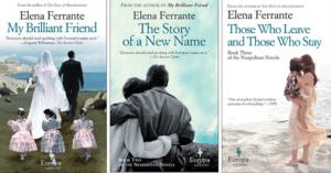 Elena Ferrante Book Series, My Brilliant Friend
