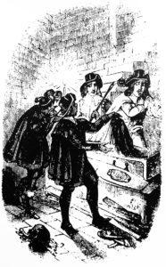 Varney the Vampire illustration