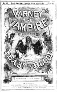 Varney the Vampire cover