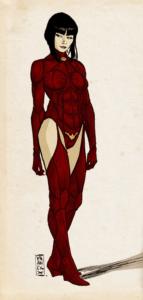 Gilles Vranckx's Vampirella design