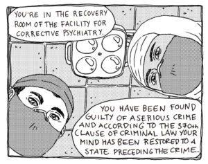"A panel from ""Start Over Again."" Image courtesy Hanna-Pirita Lehkonen."