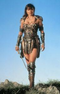 "Lucy Lawless as Xena, ""Xena: Warrior Princess"""