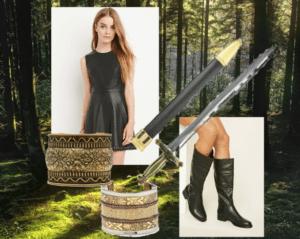 "Xena (""Xena: Warrior Princess"") Costume"