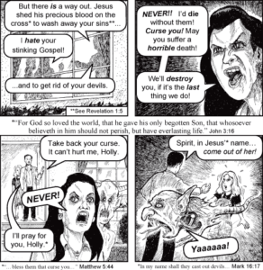 Jack Chick's The Nervous Witch