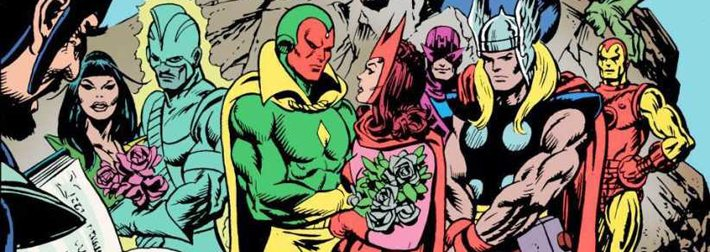 The Wedding Issue: Vision and Scarlet Witch, Mantis and Swordsman