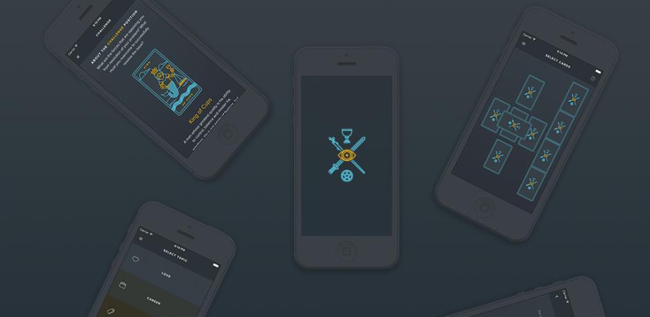 GoldenThread Tarot: The Future on Your Phone