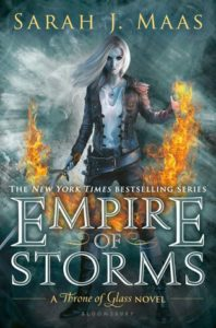 Empire of Storms Throne of Glass #5 Sarah J. Maas Bloomsbury September 6 2016