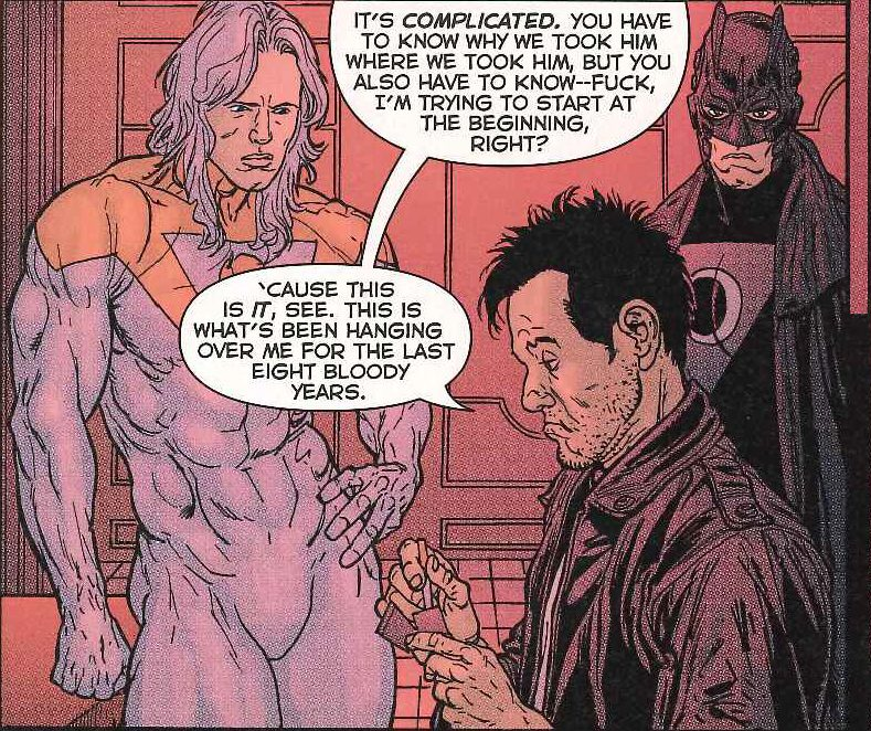 From The Authority: Kev by Garth Ennis and Glenn Fabry