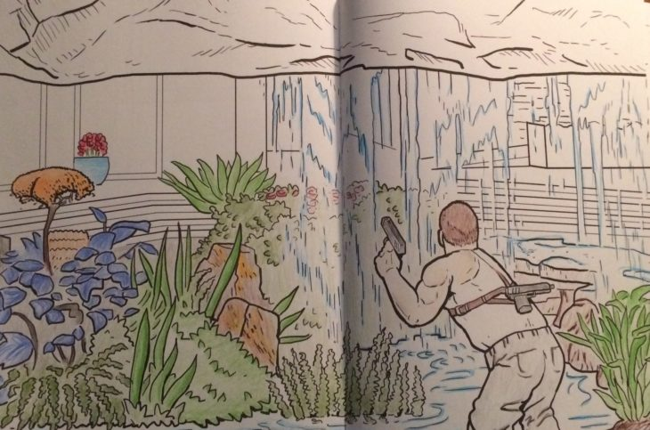 The Die Hard Coloring and Activity Book Is Mostly Great