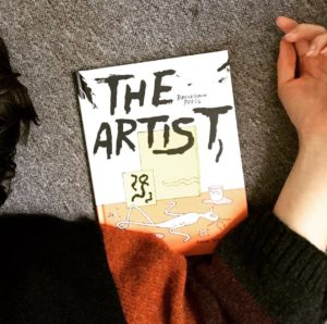 Anna Haifisch's The Artist, Breakdown Press November 2016, WWAC Instagram