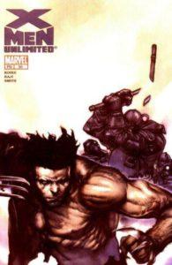 X-Men Unlimited #50 cover, Marvel Comics