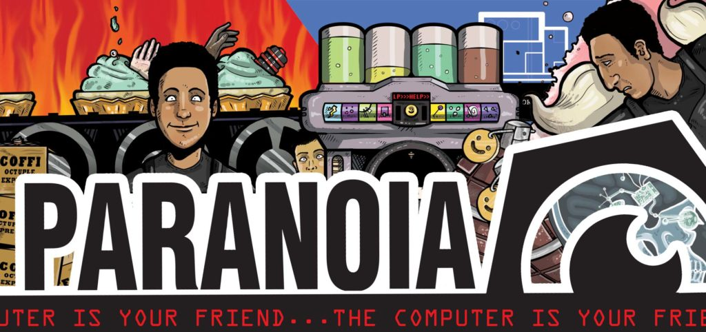 paranoia Mongoose publishing