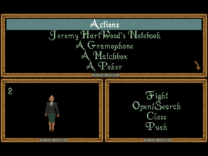 AITD's inventory screen