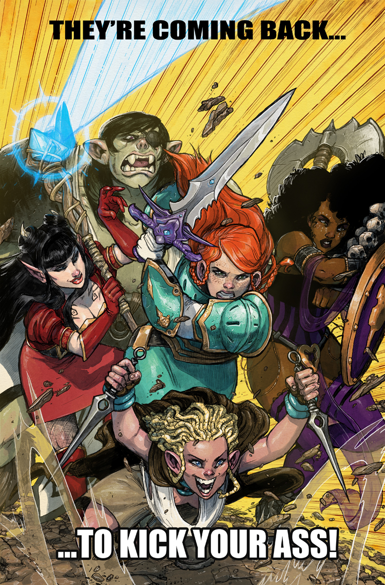 Rat Queens to Reboot in March; But Why?