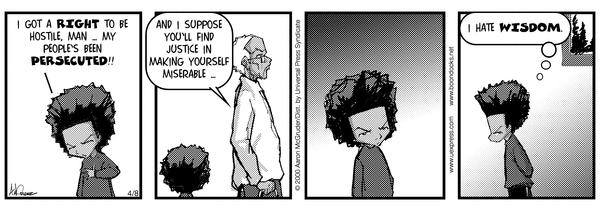A Right to Be Hostile: The Boondocks in 2016