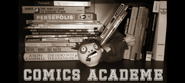 Comics Academe: Hellos and Hildebrand