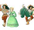 Stage Dreams Character Designs via Melanie Gillman