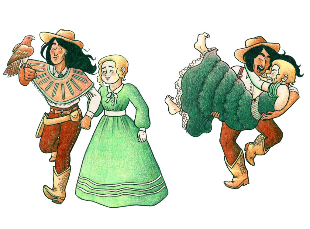 Stage Dreams Character Designs via Melanie Gillman