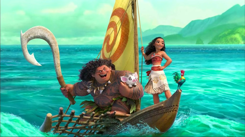 Reel Geek Girl: Disney's Moana