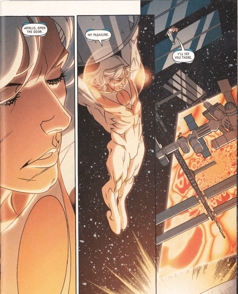 From Midnighter #9 by Jimmy Palmiotti, Justin Gray, and Brian Stelfreeze