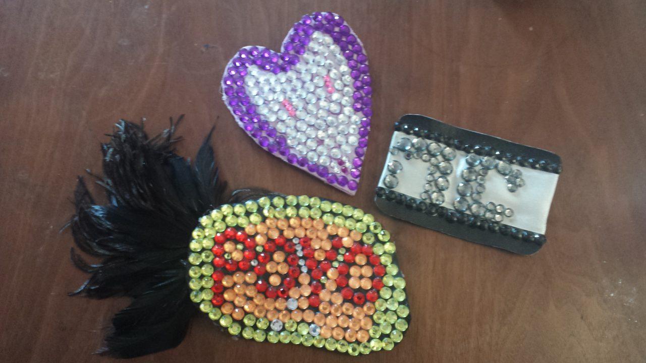 DIY Geeky Gifts: Sparkly Hair Fascinators