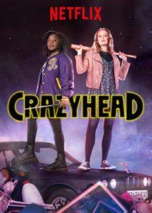 Netflix's Crazyhead. Susan Wokoma, Cara Theobold and Tony Curran. Written by Howard Overman. TV. British TV.
