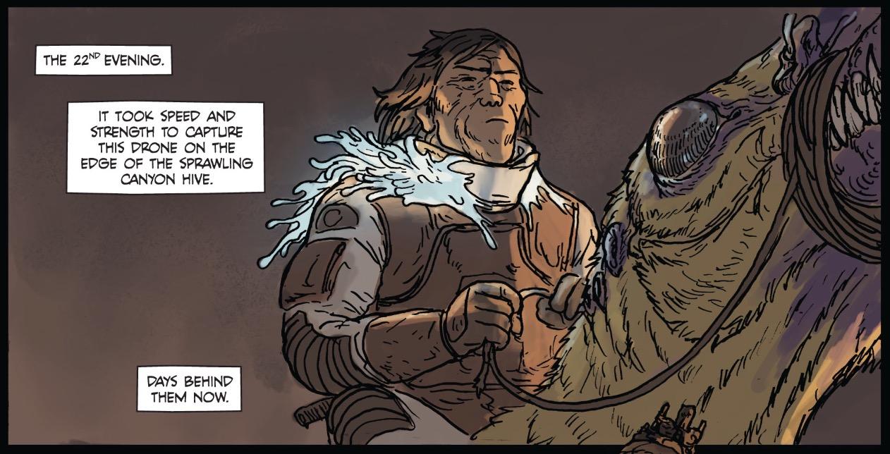Prophet #22, Image Comics, 2012