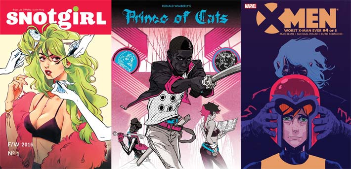 November Nightcap: NSFW Comics Tackle Space and Fantasy