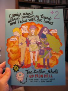 Comix about Different Problems My Friends and I Have with Our Bodies by Goda Trakumaite et al