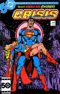 Crisis on Infinite Earths 7 - Oct 1985 - Written by Marv Wolfman - Penciled by George Perez - DC Comics